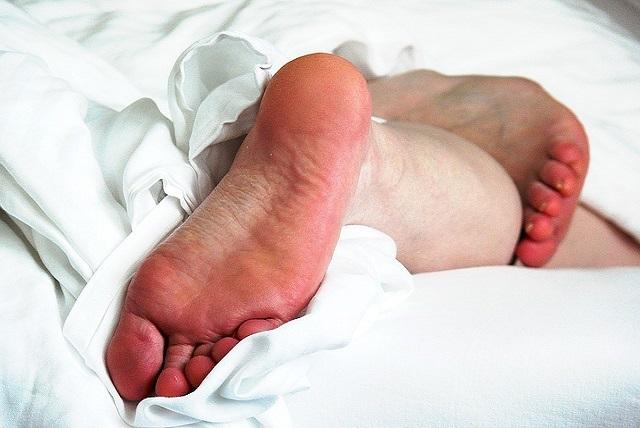 Hornhaut Fußpflege