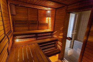 Finnische Saune als Bergwiesen-Sauna - Sauna Spass Wellness