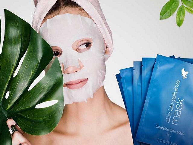 Bio-Cellulose-Maske